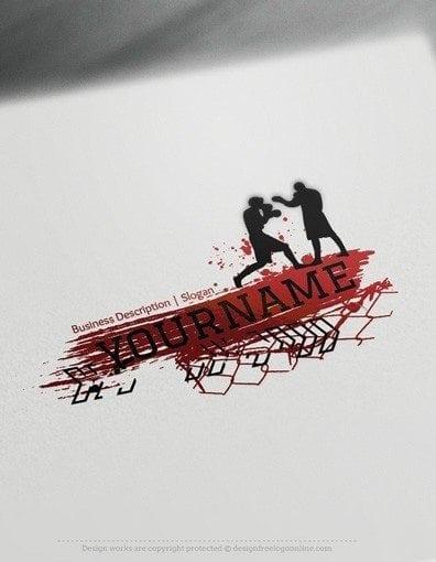 00563-2d-Boxing-logo-design-free-logos-online-04