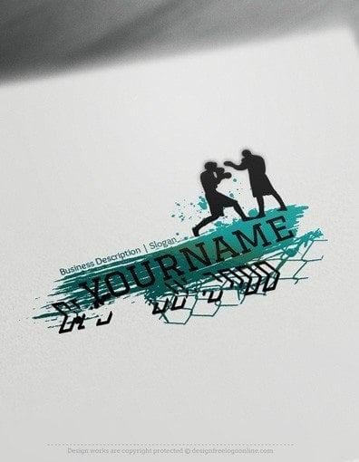 00563-2dd-Boxing-logo-design-free-logos-online-04
