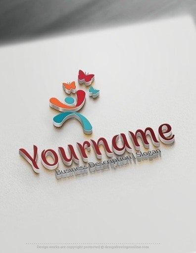 00564-3d-Man-butterfly-logo-design-free-logos-online-04