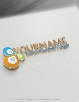 00565-3d-Colour-Drops-logo-design-free-logos-online-01