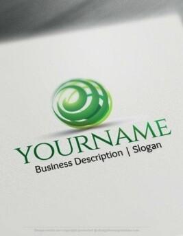 00566-2d-3D-Spiral-Globe-logo-design-free-logos-online-01