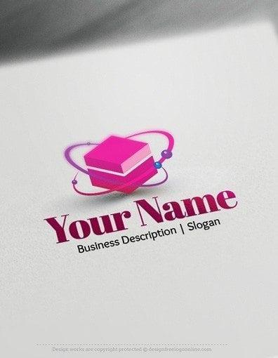 00572-2D-Cube-molecule-logo-design-free-logos-online-01