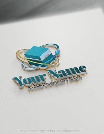 00572-3D-Cube-molecule-logo-design-free-logos-online-01