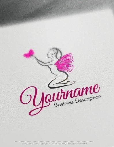 00578-2D-Butterfly-Lady-design-free-logos-online-01