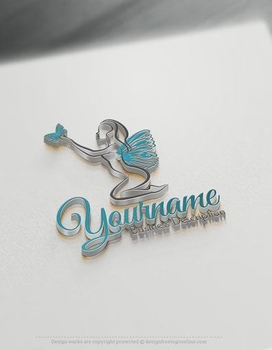 00578-3D-Butterfly-Lady-design-free-logos-online-01