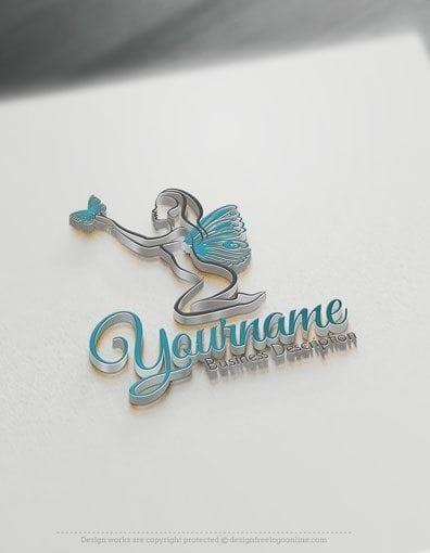 00578-3D-Butterfly-Lady-design-free-logos-online-01