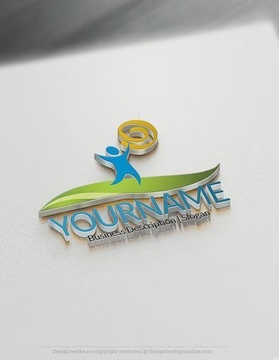 00588-3D-Sun-People-house-design-free-logos-online-01