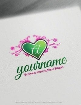 00591-2d-Heart-Initial-design-free-logos-online-01