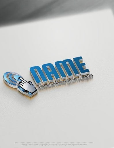 Easily customize this 3D Index finger Technology Logo Templates brand yourself with our free logo maker. Make your own logo designs, try free