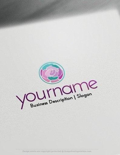 00597-2D-Flower-fashion-design-free-logos-online-01