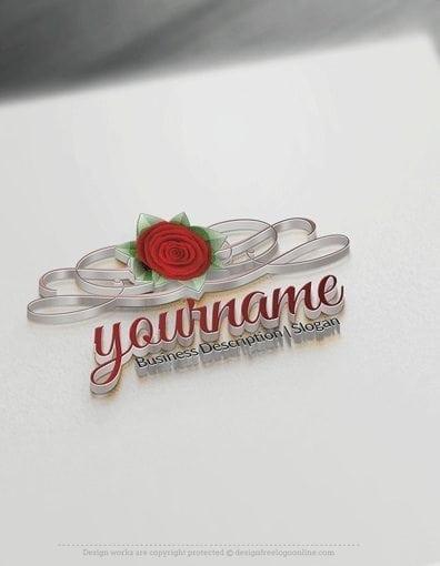 00602-3D-Rose-ribbon-free-logos-online-01