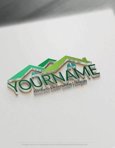 2D-00601-Real-Estate-Home-free-logos-online-01