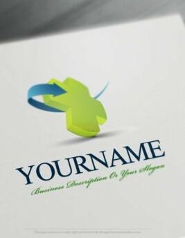 3D-Medical-Online-Logo-Template
