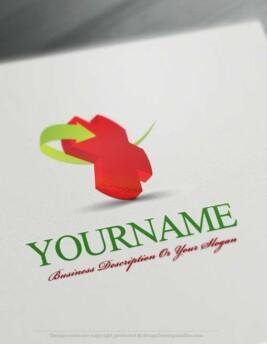 3D-Medical-Online-Logo-Templates