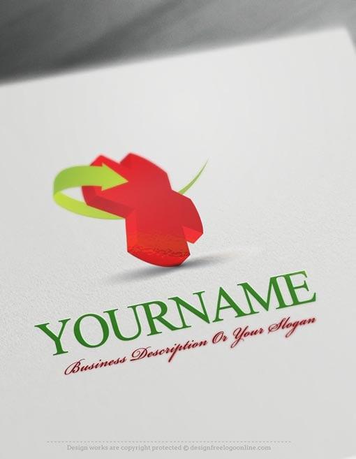 Design Free Logo 3d Medical Online Logo Template