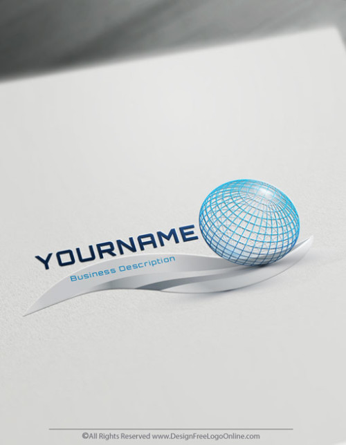 Design logo ideas Online with Free Globe Logo Maker.