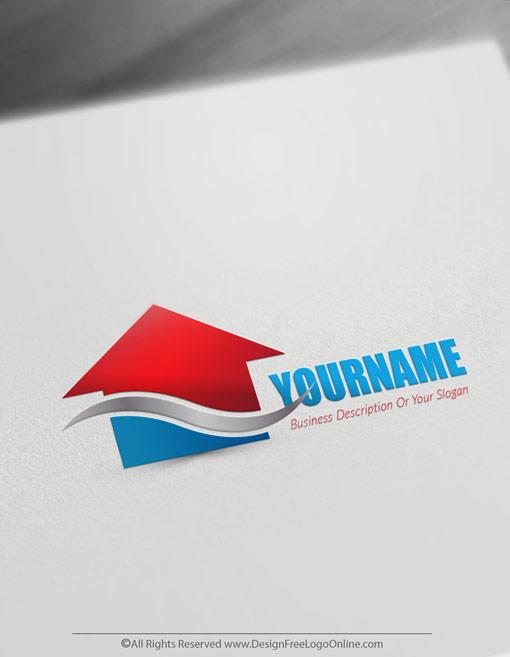 Free Real Estate Logo Maker Online House Logos Design