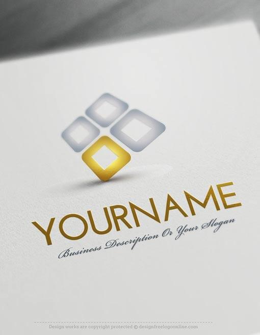 Design-Free-3D-Company-Logo-Template