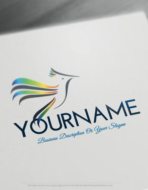 Design-Free-Animal-Bird-fly-Logo-Template