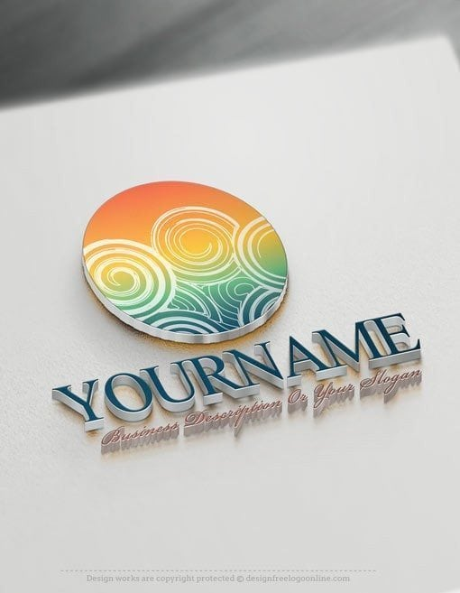 Design-Free-Art-Online-spiral-Logo-Template