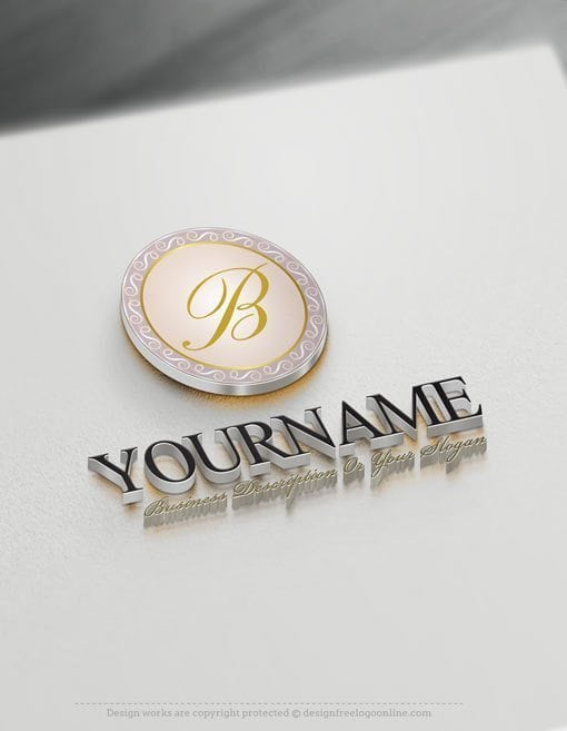 Design Free Decorative Alphabet Logo Templates