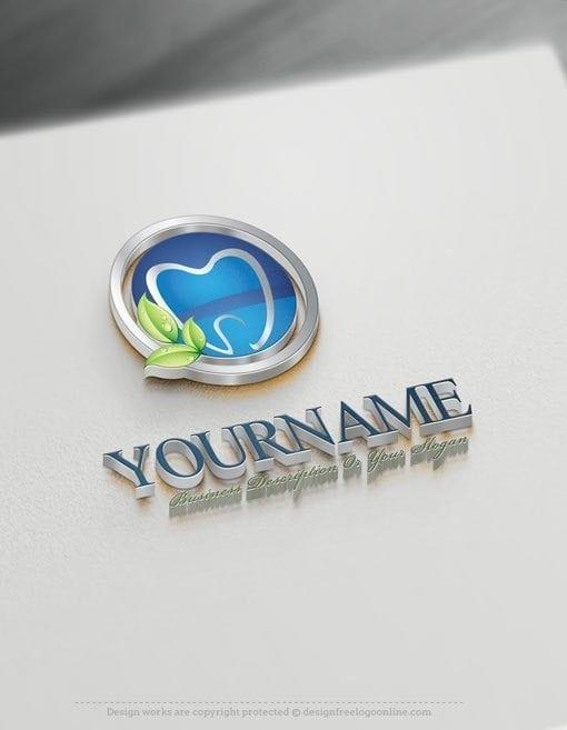 Design Dental Tooth Logo Templates with Logo Creator