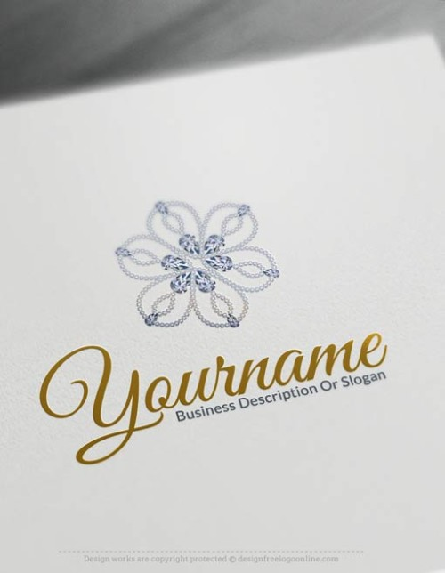 Design-Free-Diamond-Flower-Logo-Template