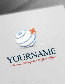 Design-Free-Globe-Travel-Online-Logo-Templates