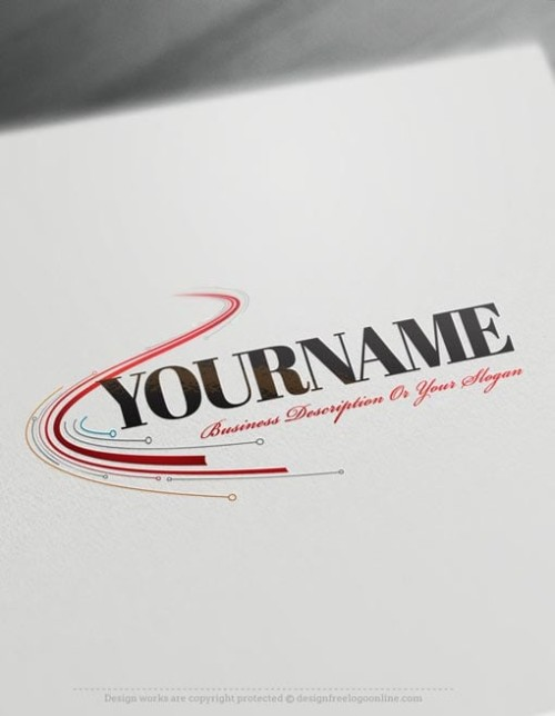 Design-Free-Logo-Abstract-Digital-Path-Logo-Template