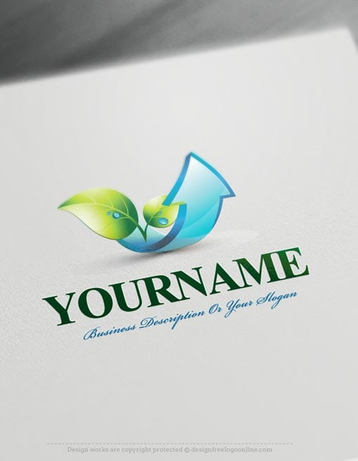 Design-Free-Nature-3d-Eco-leaves-Logo-Template