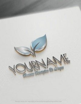 Design-Free-Nature-Colorful-leaf-Online-Logo-Template