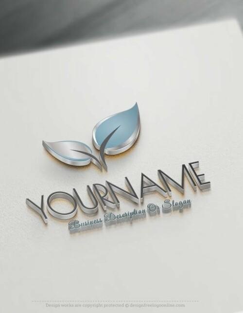 Design-Free-Nature-Colorful-leaf-Online-Logo-Template