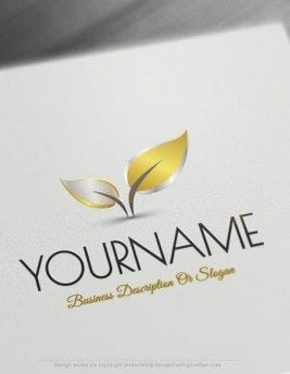 Design-Free-Nature-Colorful-leaf-Online-Logo-Templates