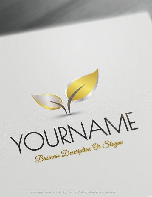 Design-Free-Nature-Colorful-leaf-Online-Logo-Templates