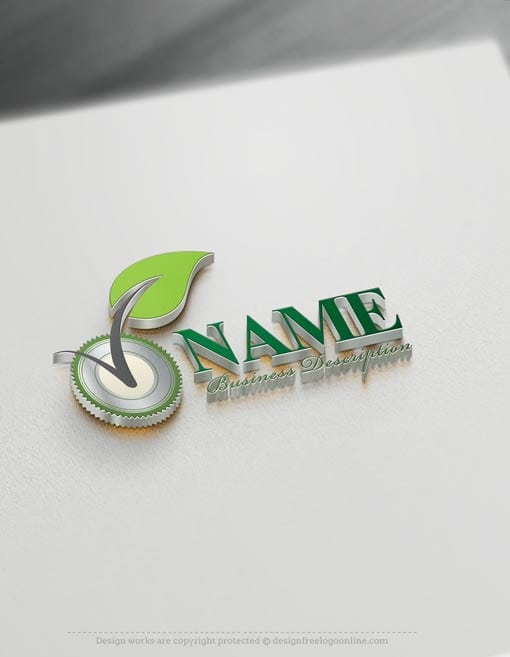 Eco Industry Logo Template