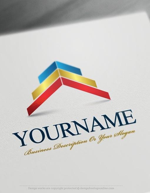 Design-Free-Online-Arrows-up-Logo-templates