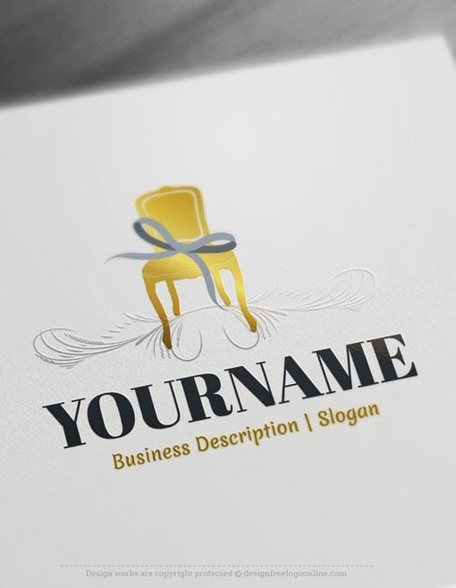 Design-Free-Online-Interior-decor-Logo-Templates