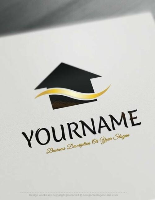 Design-Free-Online-Real-Estatehouse-logo