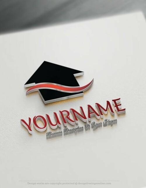 Design-Free-Online-Real-Estatehouse-logos