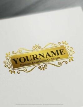 Design-Free-Online-Vintage-retro-frame-Logo-Template