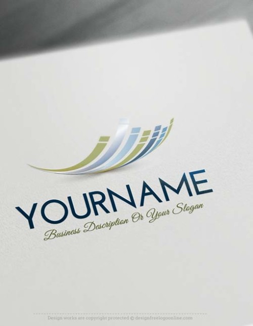Design Your own Abstract Lines Logo Template
