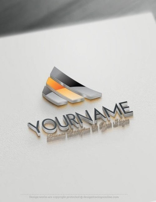 Easily customize this Abstract company Logo yourself with our free logo maker.