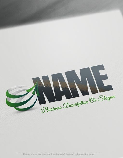 Design-Free-online-Arrows-company-LogoS-Template