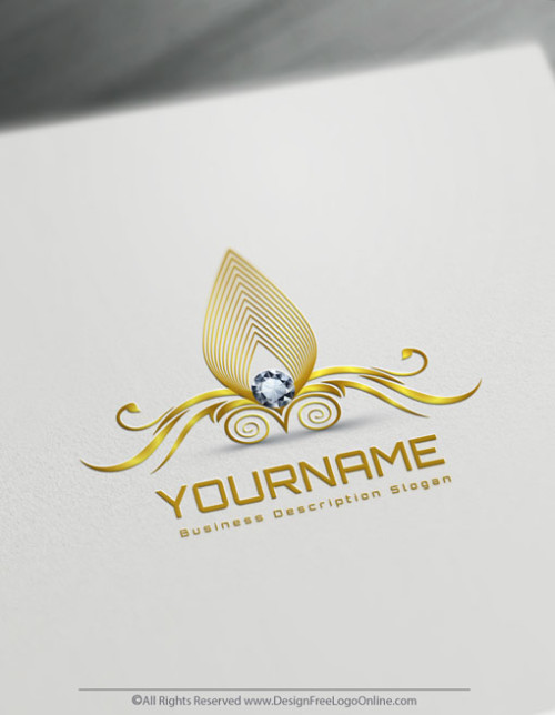 Diamond Logo Makin Done Easily With Online Logo Maker. Instantly create as many free logo templates designs as you want. Create a Jewelry logo