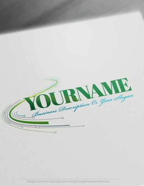 Create Digital Path Logo with free logo design templates.