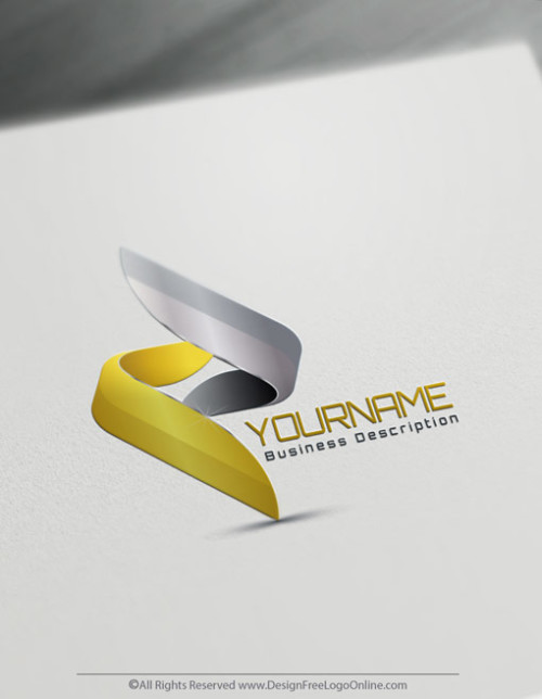 Create your own modern Gold logos online using the 3D Logo Creator.
