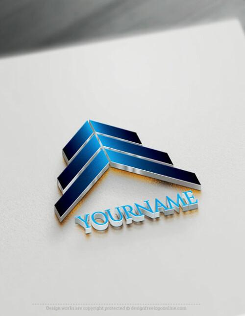 Online Arrows Logo Design Template - Free Business Logo Maker