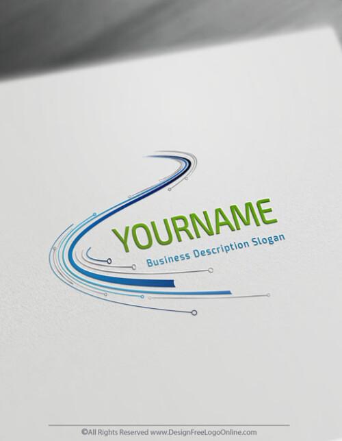 Technology Logo Design Maker