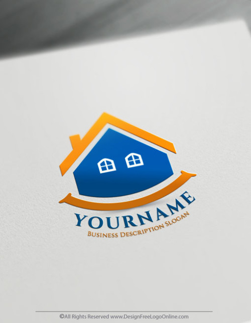 Create Your Own Online Happy Home Logo Design Ideas