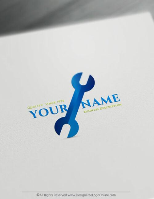 Design Free Logo Maker - Online Industrial Handyman Logo – DIY Logos